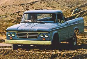1963 W200 Sweptside Dodge Power Wagon