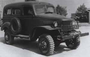 WC-10 Dodge Carryall, a forerunner to the Power Wagon.